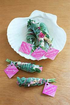 diy smudge stick wedding favors wedding inspiration