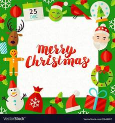 merry christmas paper template royalty free vector image