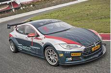 Electric Gt S Race Spec Tesla Model S Hits The Track