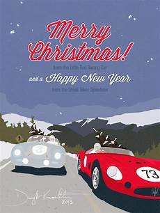 merry christmas from the little racing car