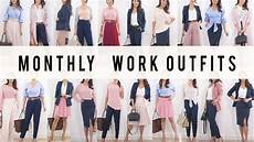 Monthly Work Options Style Mix Match Ideas