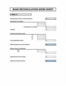 bank reconciliation template clergy coalition