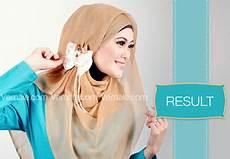 Endar Wahyuni Cara Memakai Jilbab Segi Empat Untuk Ke