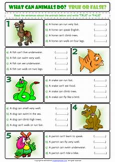 animals abilities worksheets 13782 ability and inability esl printable worksheets and exercises