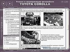 automotive repair manual 1994 toyota corolla spare parts catalogs toyota manual corolla 1992 1998