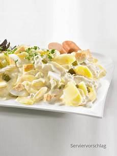 Kartoffelsalat Mit Ei - kartoffelsalat mit ei beilagen fertiggerichte suppen