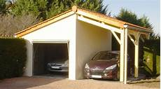 dimension garage garage avec auvent