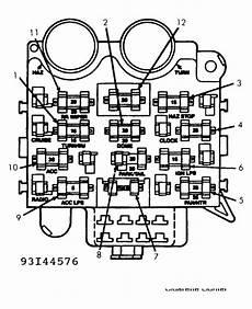 fuse block diagram 6 cylinder 1997 jeep wrangler dash fuses 1993 jeep wrangler side there is jeep wrangler fuse box diagram that jeep