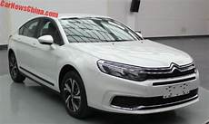 Facelift For The Citroen C5 In China Carnewschina