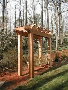 pergola swing photo page hgtv