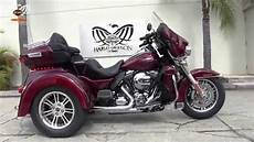 New 2016 Harley Davidson Flhtcutg Triglide Trike