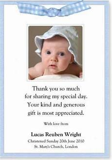 thank you card template for baptism thank you notes for baptism christening sle thank you