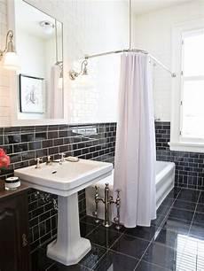 Black Tiles Bathroom