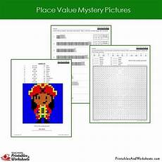 place value blocks worksheets grade 5042 2nd grade place value fundamentals mystery picture coloring worksheets printables worksheets