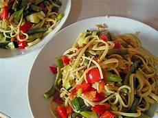 gebratene spaghetti mit gem 252 se rezept mit bild chefkoch de - Spaghetti Mit Gemüse