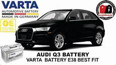 audi q3 battery replacement battery registration