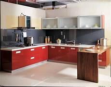 interior designing for kitchen aluminium modular kitchen at rs 1500 square