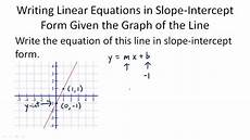 slope intercept form of linear equations ck 12 foundation
