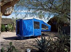 Timeout and Easy Camper And Slipstream Motorcycle Campers