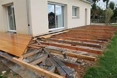 Fiche R 233 Alisation Terrasse En Bois Comment Construire