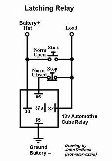 latching relay for fog ls