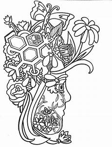 15 more fancy funky faces coloring pages vol2
