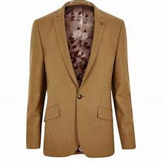 costume marron clair veste de costume en m 233 lang 233 e marron clair