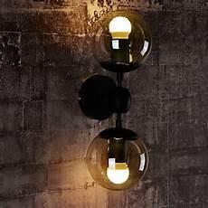 wall sconces glass ball 2 lights outdoor indoor wall lightsl rustic lodge metal lightingo