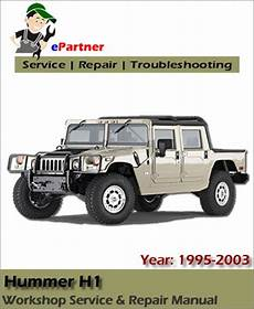 motor auto repair manual 1997 hummer h1 user handbook home hummer manual hummer h1 service repair manual 1995 2003