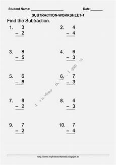 worksheets on subtraction for grade 1 10203 september 2014 my free worksheet