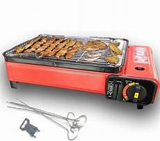 portable gas barbecue grill bbq cing table top cooker