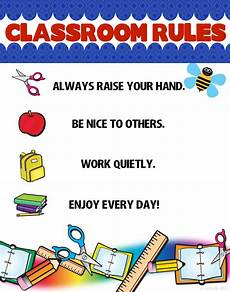 create a classroom rules poster classroom poster school poster ideas