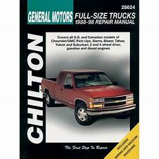 chilton car manuals free download 1998 gmc 2500 club coupe auto manual 1997 chevy pickup repair manual chiltons
