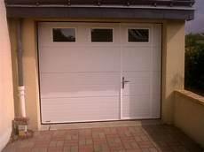 Porte De Garage Motoris 233 E Avec Portillon Int 233 Gr 233 Voiture