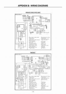 appendix b wiring diagrams dometic rm2852 user manual page 14 16