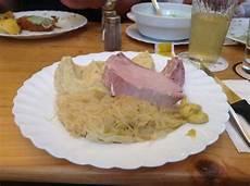 Rippchen Mit Sauerkraut Bild Apfelwein Wagner
