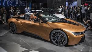 2019 BMW I8 Roadster Debuts Along With Updated Coupe