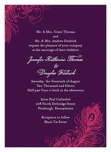 Indian Wedding Invitation Sles