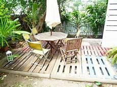 faire une terrasse en palette d 233 co clem around the