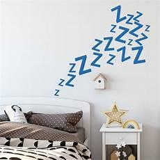 sleeping zzz s wall sticker by that s nice that notonthehighstreet com