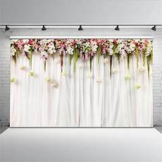 7x5ft Wedding Flowers Wall Backdrop by Mehofoto Flower Curtain Bridal Shower Backdrop 7x5ft