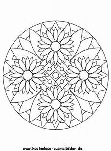 Malvorlagen Mandalas Blumen Ausmalbilder Blumen Mandala 2 Mandalas Zum Ausmalen