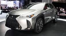 2019 lexus ux small suv gets up to 168hp in u s available with subscription carscoops
