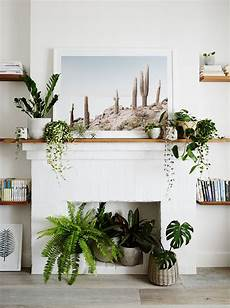 Living Room Home Decor Ideas With Plants by 8 Stylish Ways To Decorate Live With Plants Fireplace