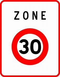limitation de vitesse free vector graphic speed limit zone 30 sign free