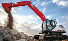 link belt unveils 210 x4 excavator light the trailer