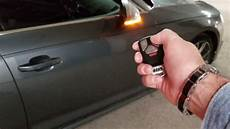 audi a4 s4 b9 remote start using the oem key fob pt 1 youtube
