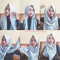 6 Tutorial Style Pashmina Simple Jilbab Tutorial
