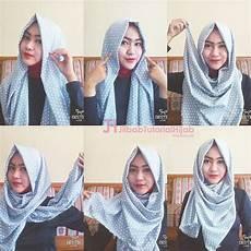 6 Tutorial Style Pashmina Simple Jilbab Tutorial
