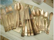Coronation Silver Plated Silverware by nanciesvintagenest